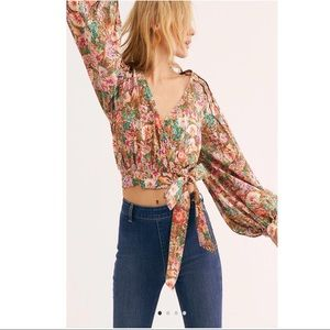 FREE PEOPLE Party Playlist Blouse